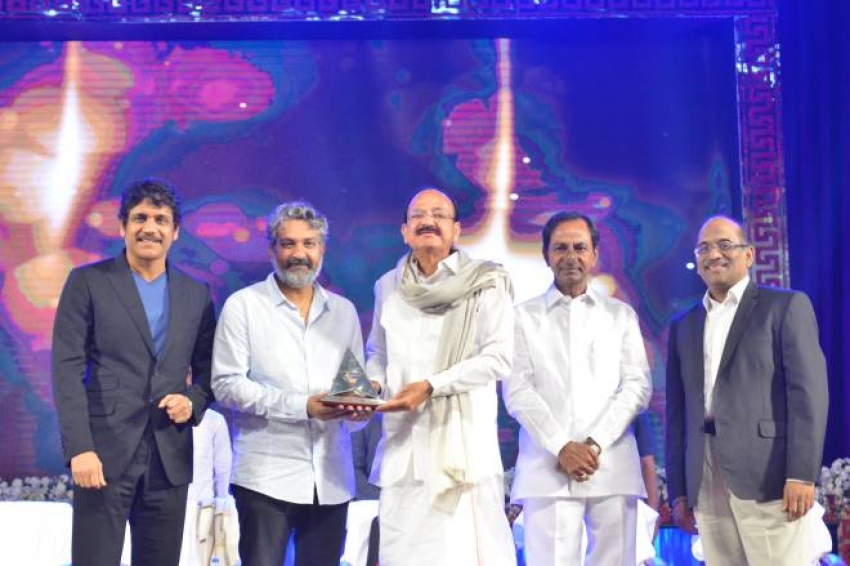 ANR Award to Rajamouli Photos
