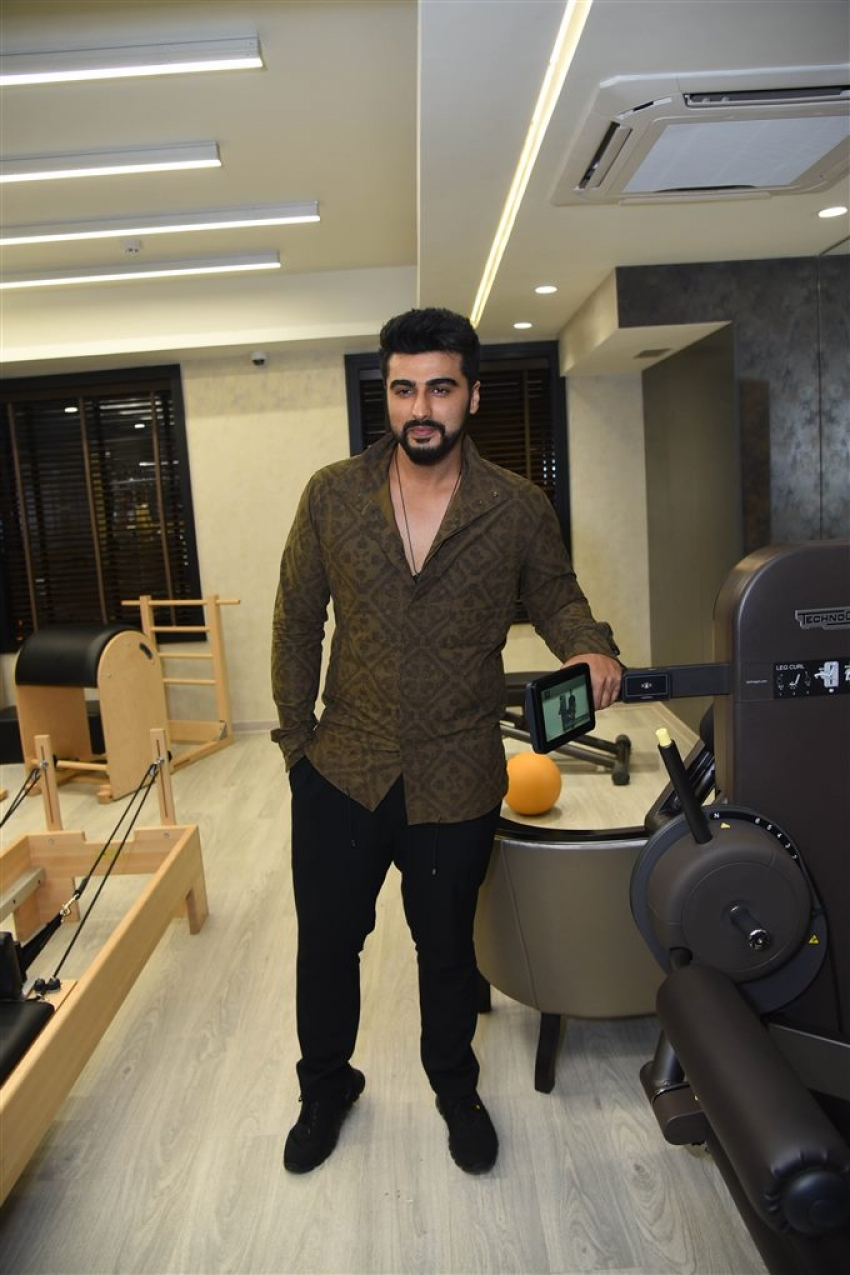 Arjun Kapoor At Launch Of Gym FIT By Ravissant In New Delhi Photos