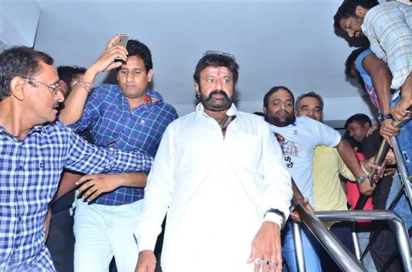 Balakrishna Watched Paisa Vasool Movie At Bramrambha Threatre Photos