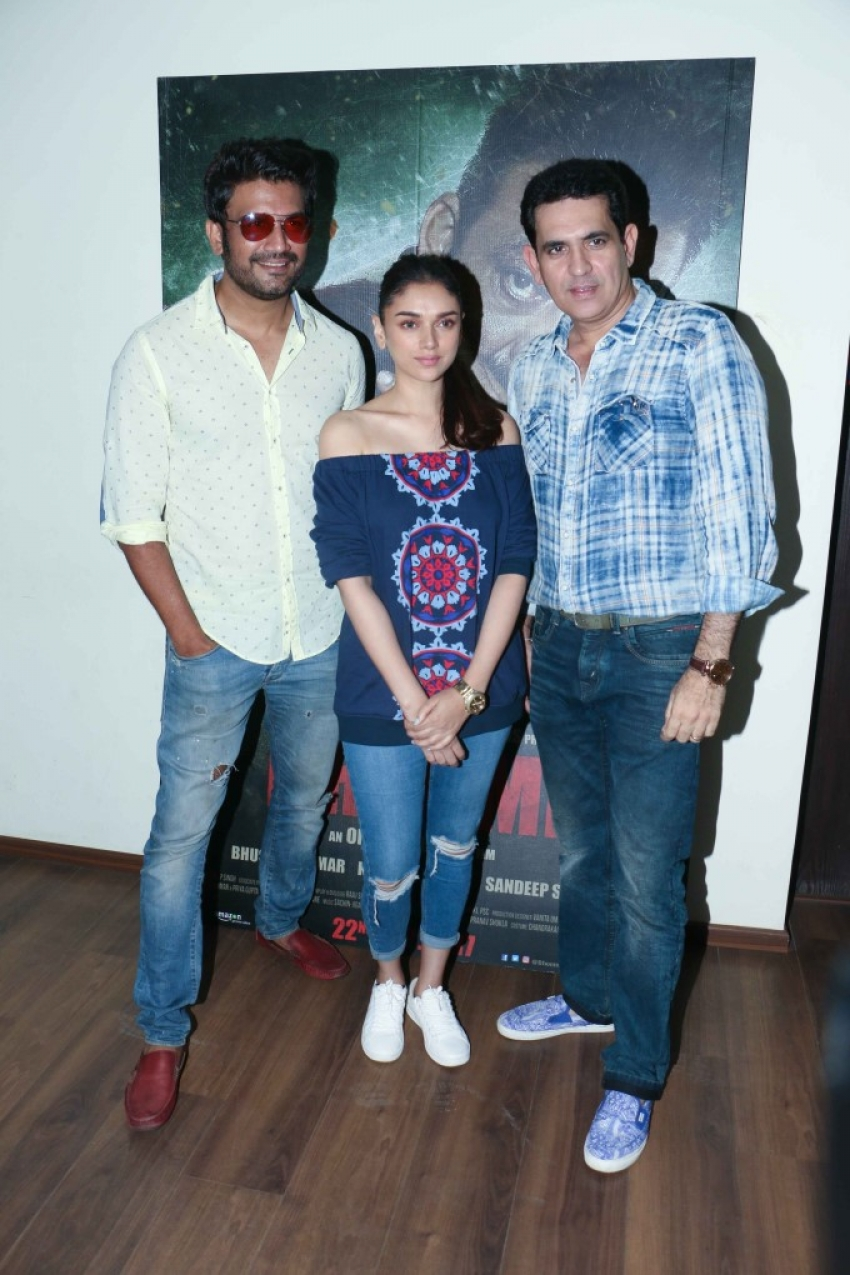 Bhoomi Film Promotions Photos