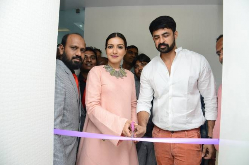 Catherine Tresa Launches Eledent Hospital Photos