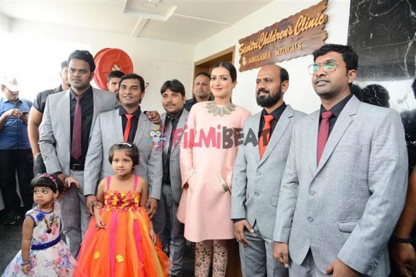 Catherine Tresa Launches Eledent Hospital In Kondapur Photos