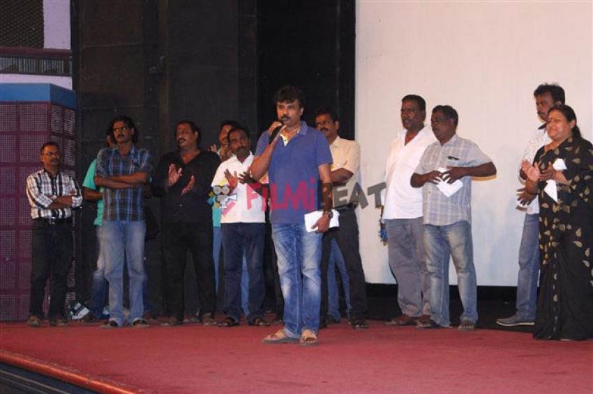 Celebrities At Oru Kanavu Pola Movie Special Screening Photos