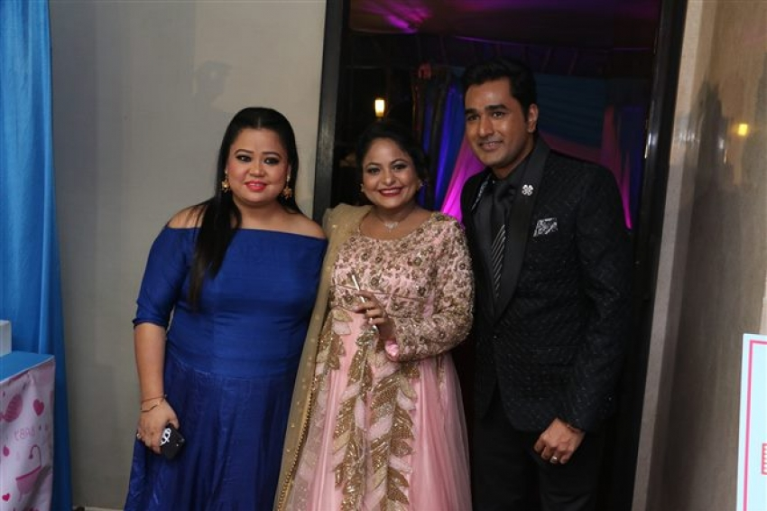 Comedian Mubeen Saudagar's Wife Baby Shower At Time & Again Photos