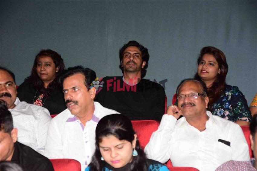 Daddy Special Screening For Arun Gawli Family Photos