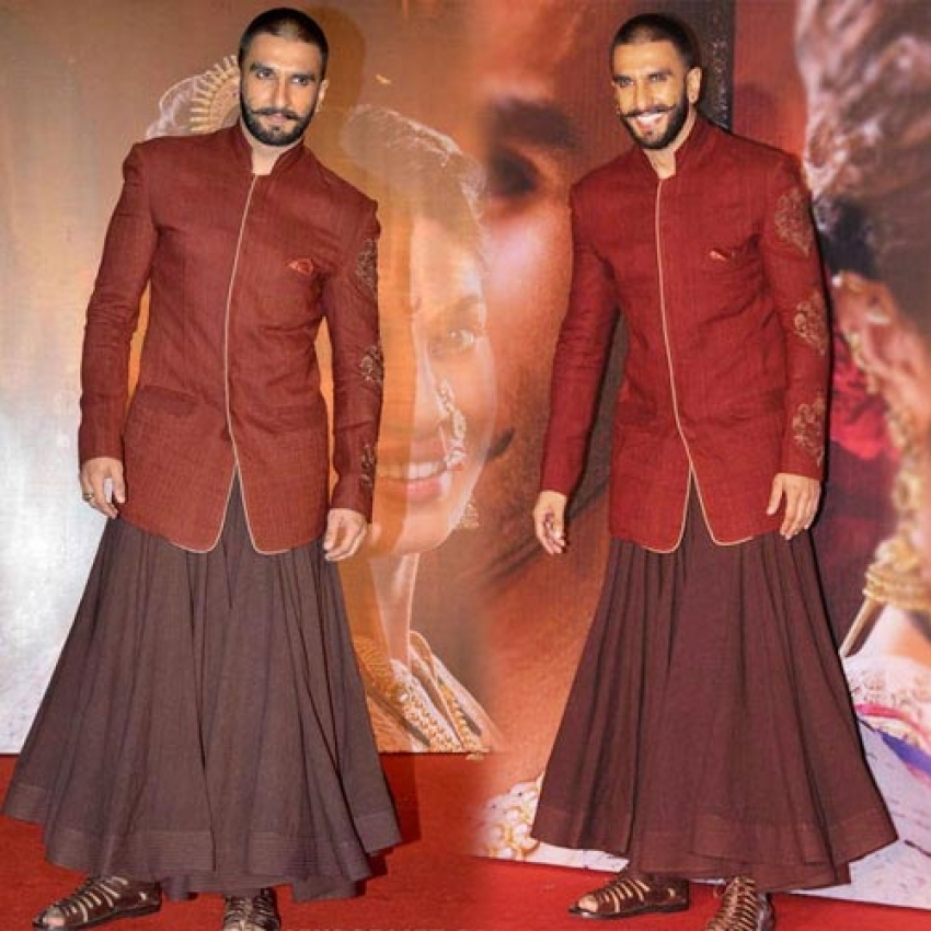 Funny Dressing Sense Of Ranveer Singh Photos