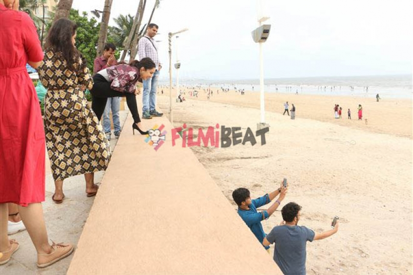Haseena Parkar Promotion At Sun & Sand Photos