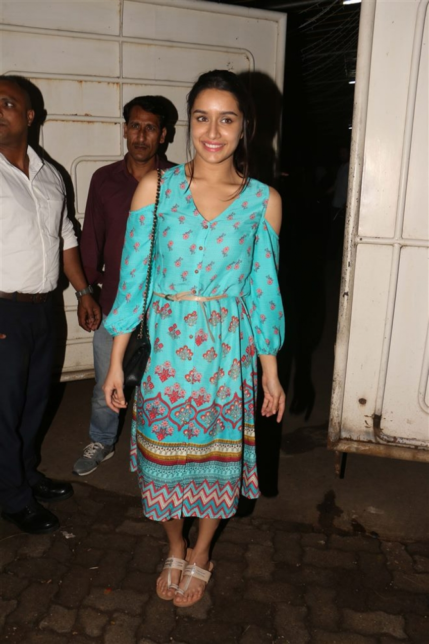 Haseena Parkar Special Screening At Sunny Super Sound Photos
