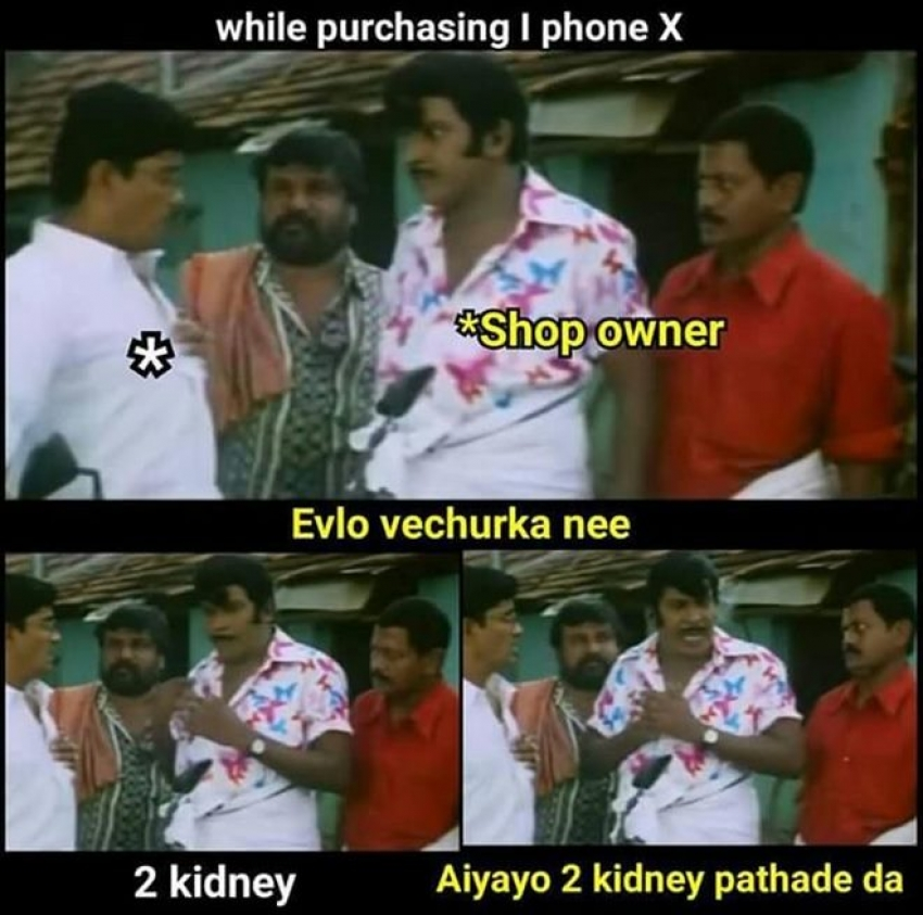 Iphone X Tamil Memes Photos