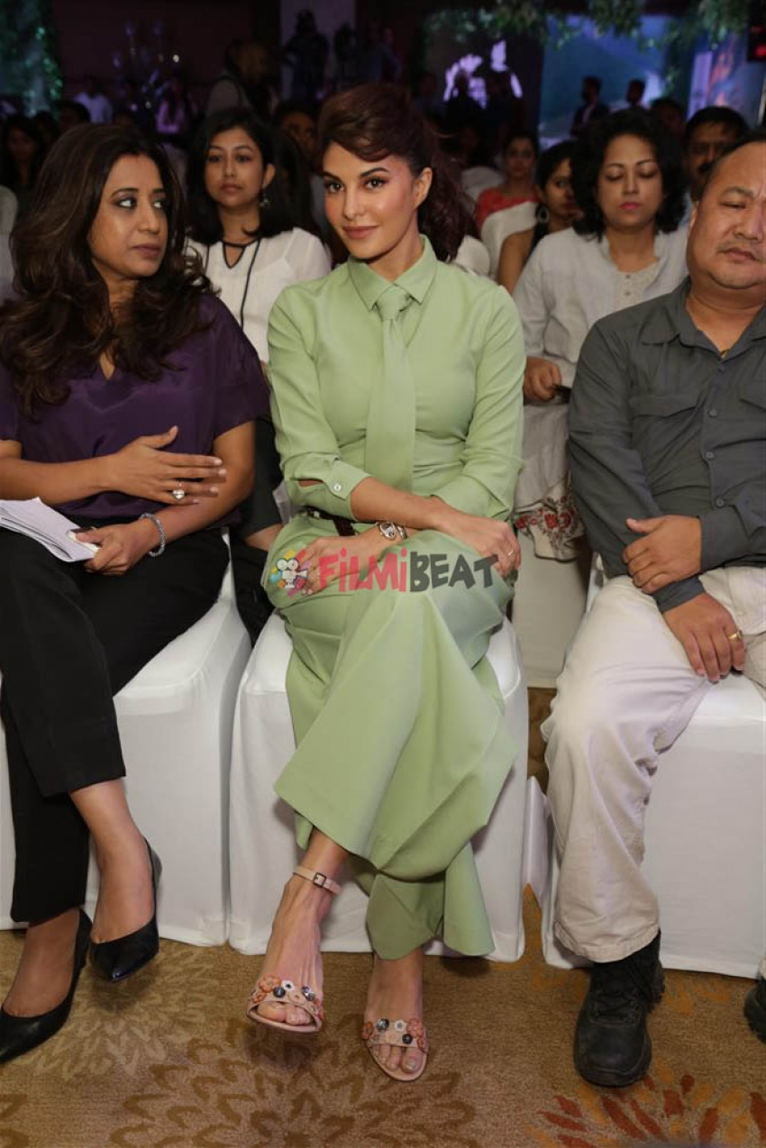 Jacqueline Fernandez At Body Shop Event In New Delhi Photos