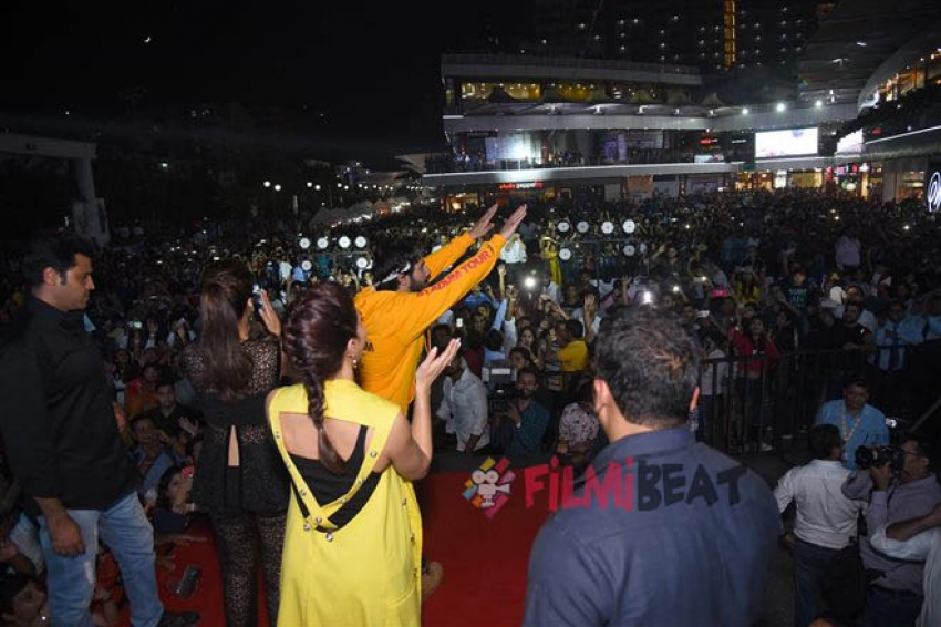 Judwaa 2 Movie Promotion In New Delhi Photos