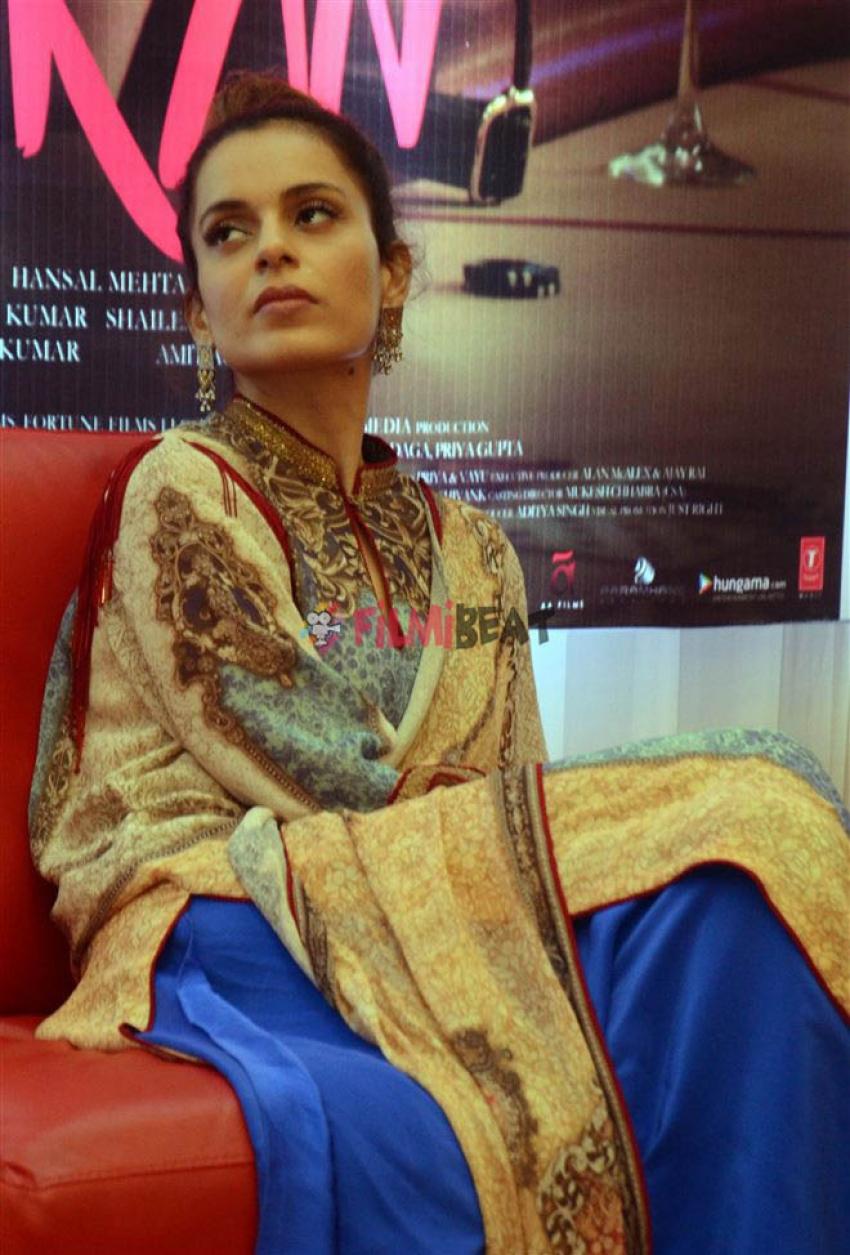 Kangana Ranaut Promote Simran At Ahmedabad Photos