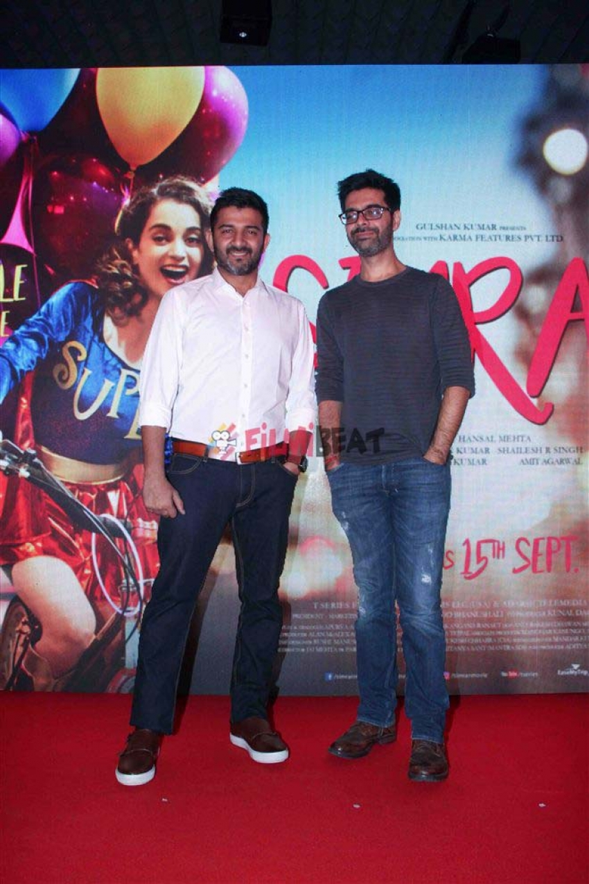 Kangana Ranaut Single Rehne De Song Launch From Simran Movie Photos