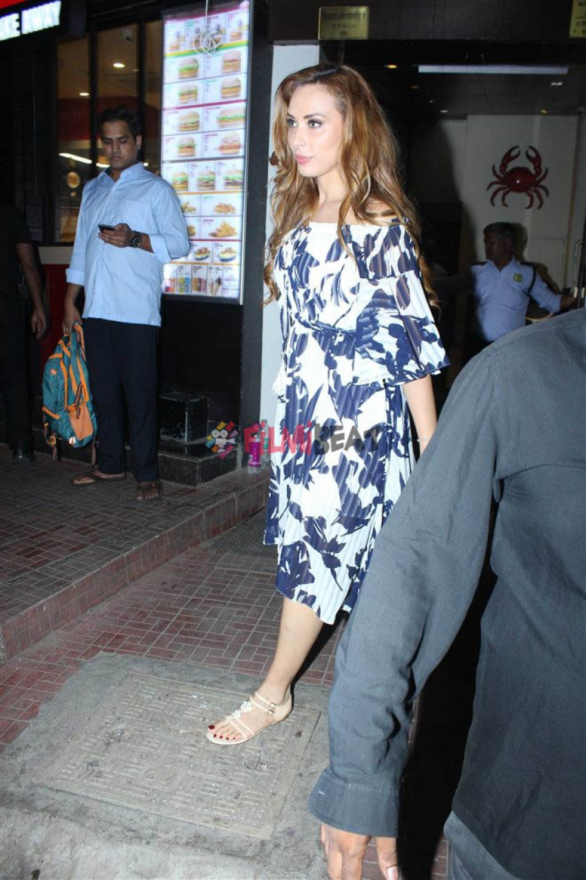 Lulia Vantur Spotted At Bastian Bandra Photos