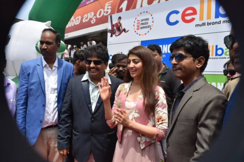 Pranitha Inagurated Cell Bay Mobiles 54th & 55th Showrooms Photos