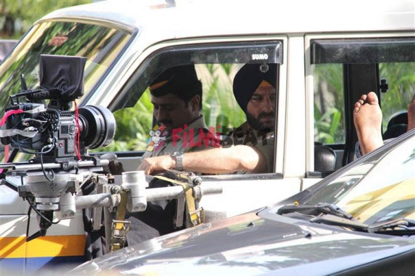 Saif Ali Khan Look As Cop Sartaj Singh in Web Series Sacred Games Photos