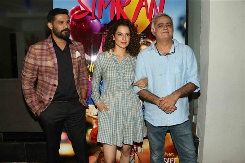 Simran Movie Special Screening In Mumbai Photos
