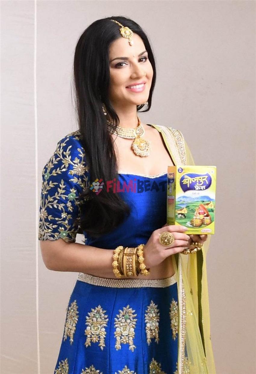 Sunny Leone Shoots For Dholpur Fresh Pure Ghee Photos