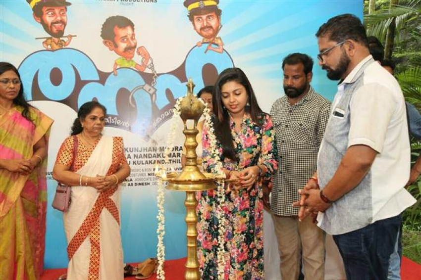 Thanaha Movie Pooja At Trissur