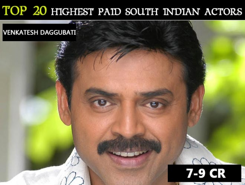 Top 20 Highest Paid South Indian Actors Photos