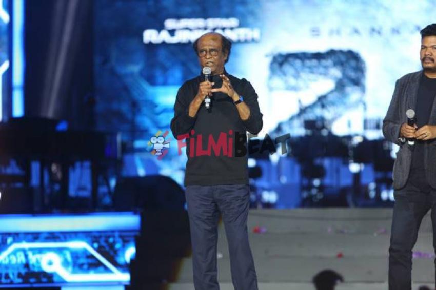 2.0 Audio Launch In Dubai Photos