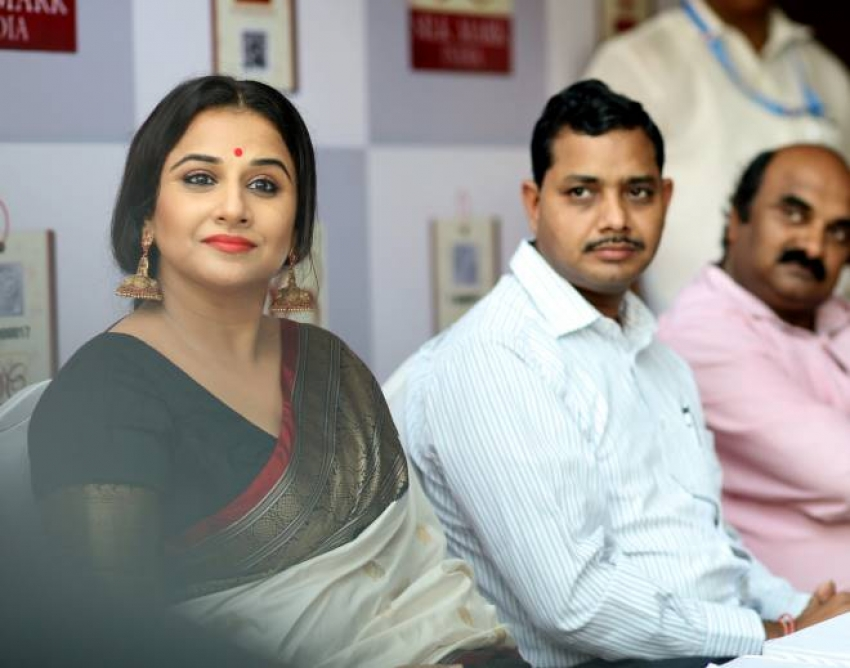 Vidya balan At Silk Mark Expo 2017 Launch Photos