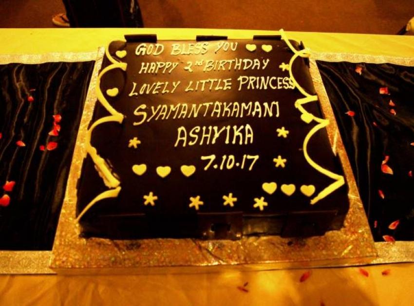 Choreographer Shobi Lalitha Daughter Birthday Celebration
