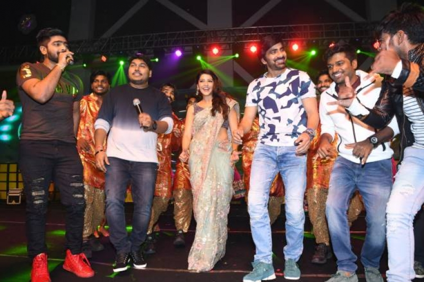 Raja The Great  Pre Release Event Photos