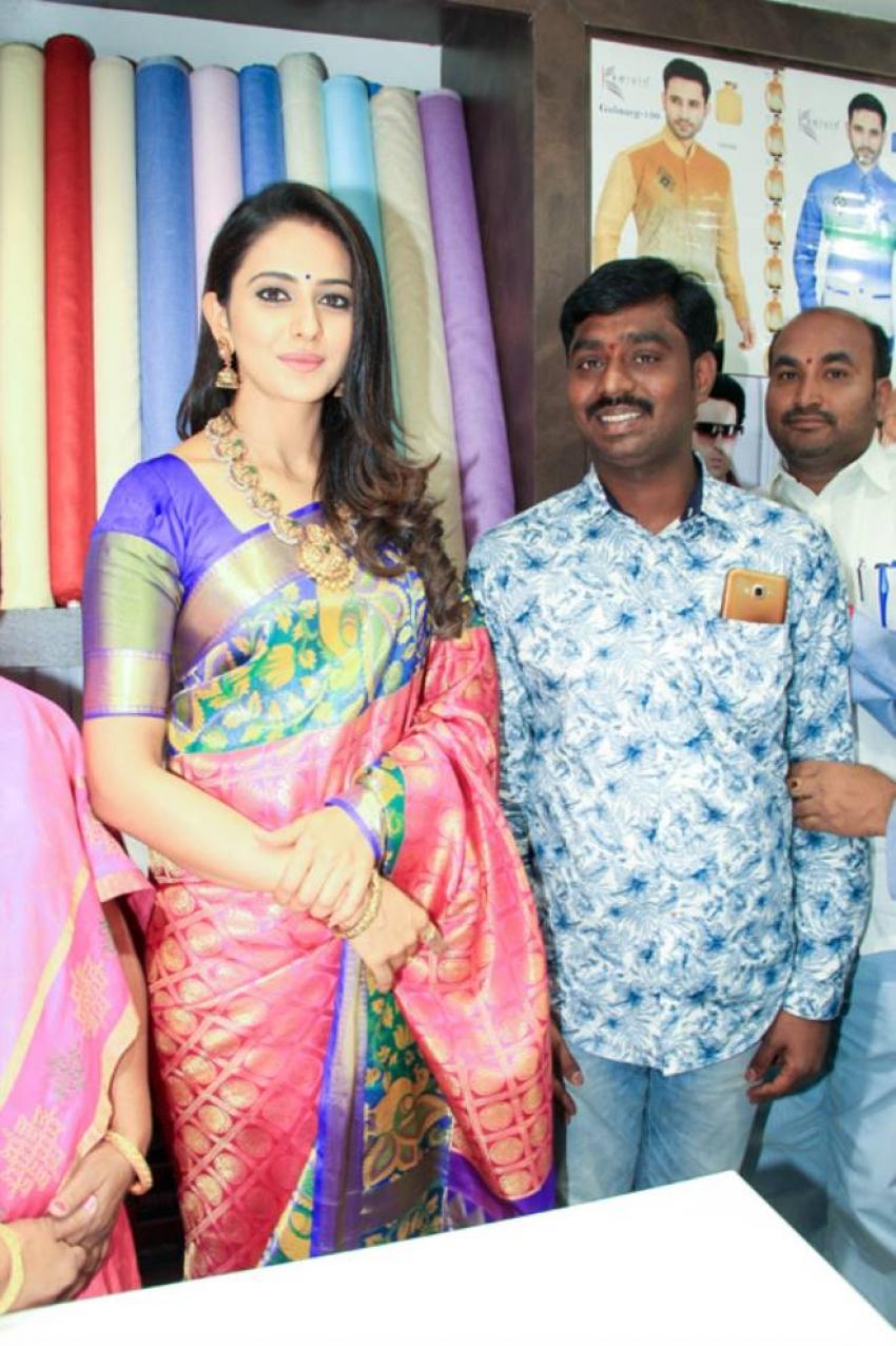 Rakul Preet Launches Subhamasthu Shopping Mall Photos