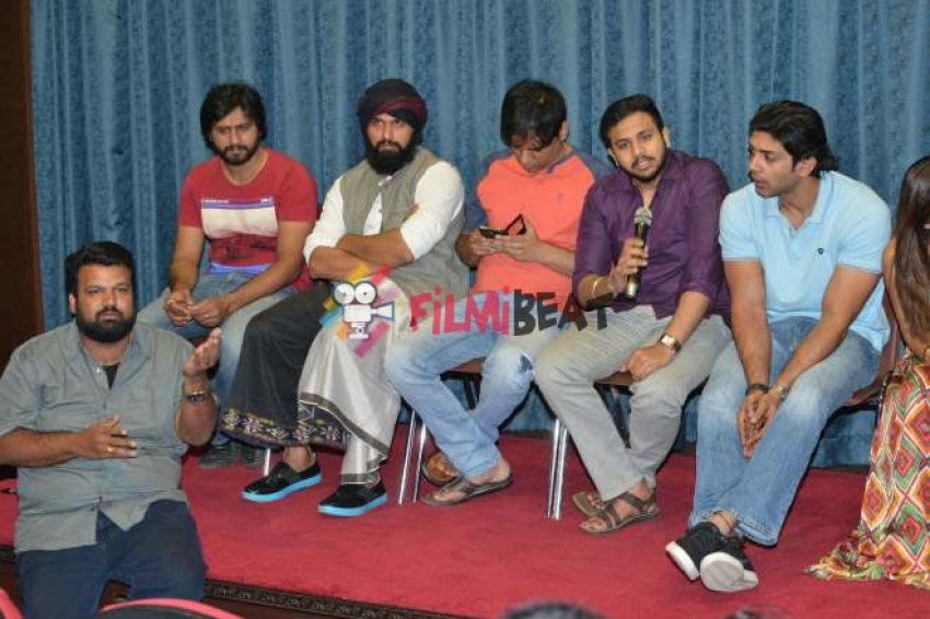 Dayavittu Gamanisi Press Meet Photos