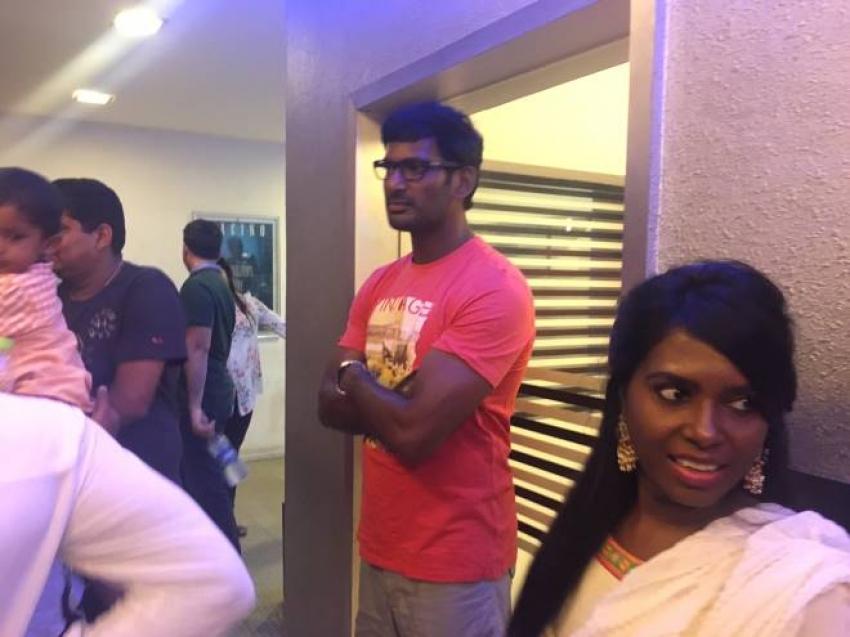 Mohanlal & Vishal Starring Villain Movie Premiere Show Photos
