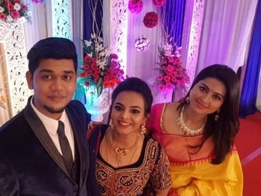 VJ Abishek Raj Wedding Photos