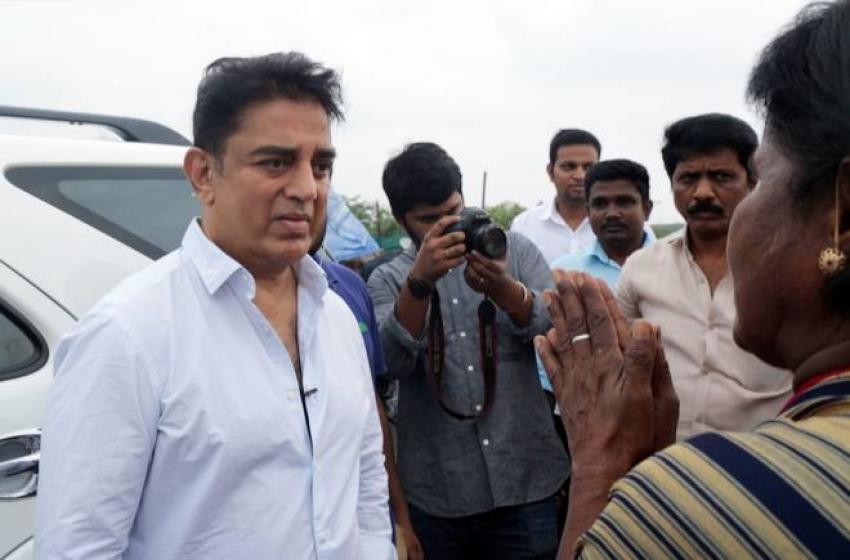 Kamala Hassan Visits Ennore Photos