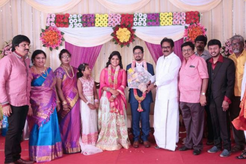 Cinematographer K S Sivaraman Daughter Akshya Marriage Photos