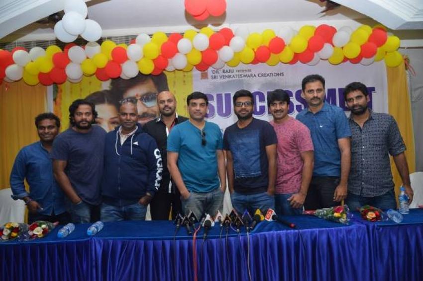 Raja The Great Success Meet at VVIT College Photos
