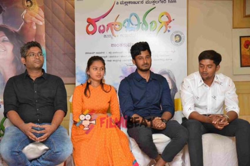Rang Bi Rangi Press Meet Photos