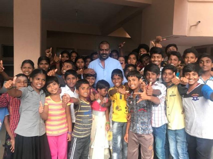 Raghava Lawrence Birthday Celebration Photos