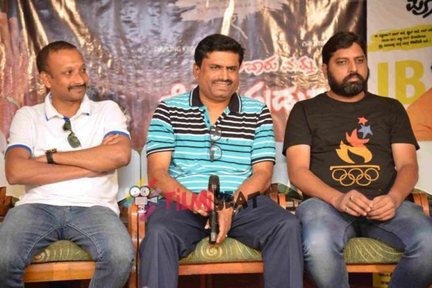 Jolly Bar Poli Hudugaru Press Meet Photos