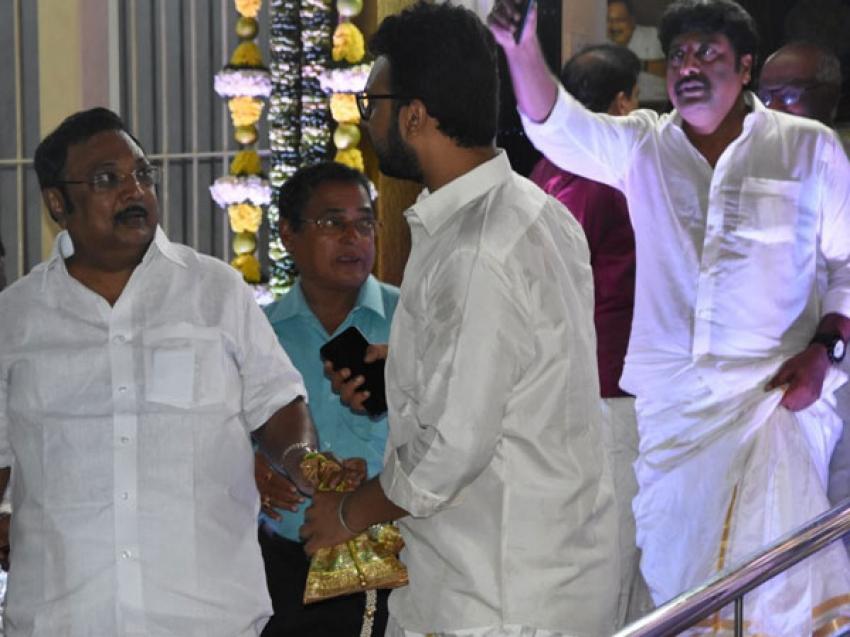 Actor Vikram's Daughter Akshita Married To Manu Photos