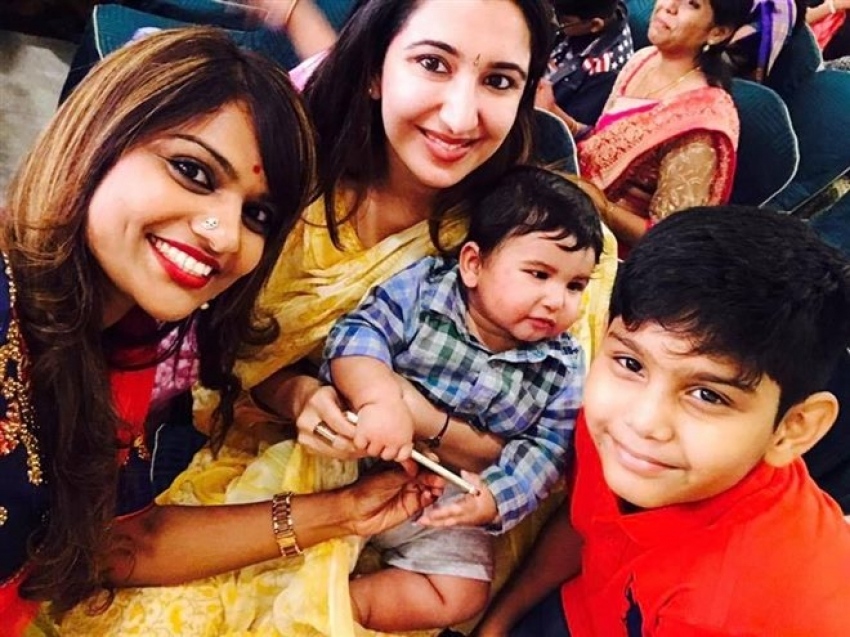 Actor Dhanraj Son Naming Ceremony Photos