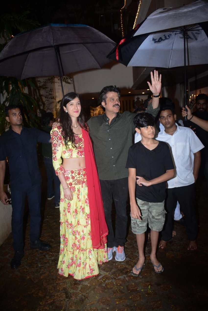 Anil Kapoor Host Karva Chauth Party Photos