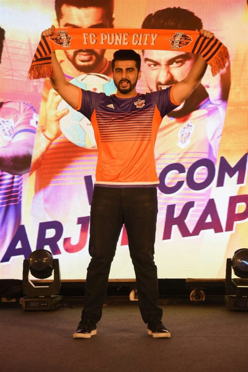 Arjun Kapoor Launch New Face Of Pune At JW Marriot Photos