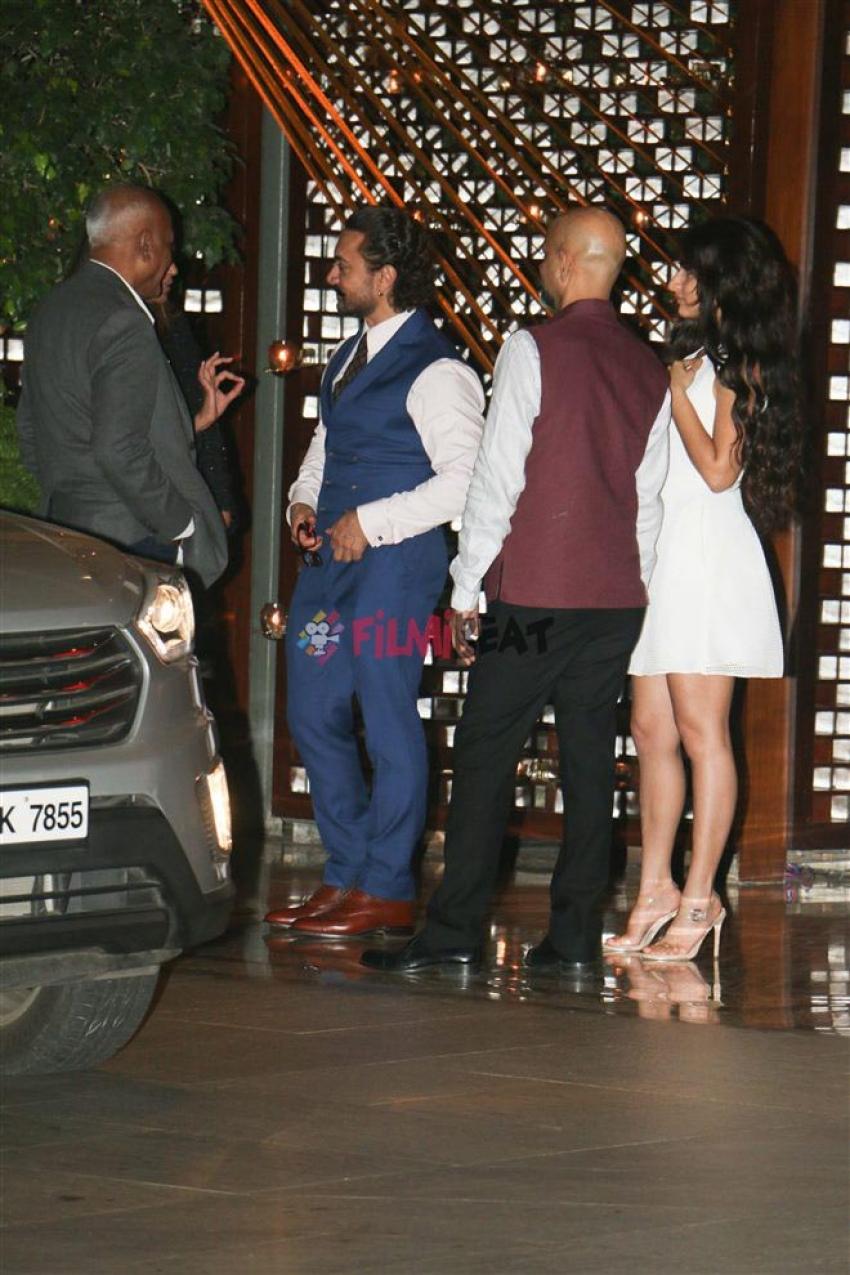 Bollywood Celebs Attend Mukesh Ambani Party