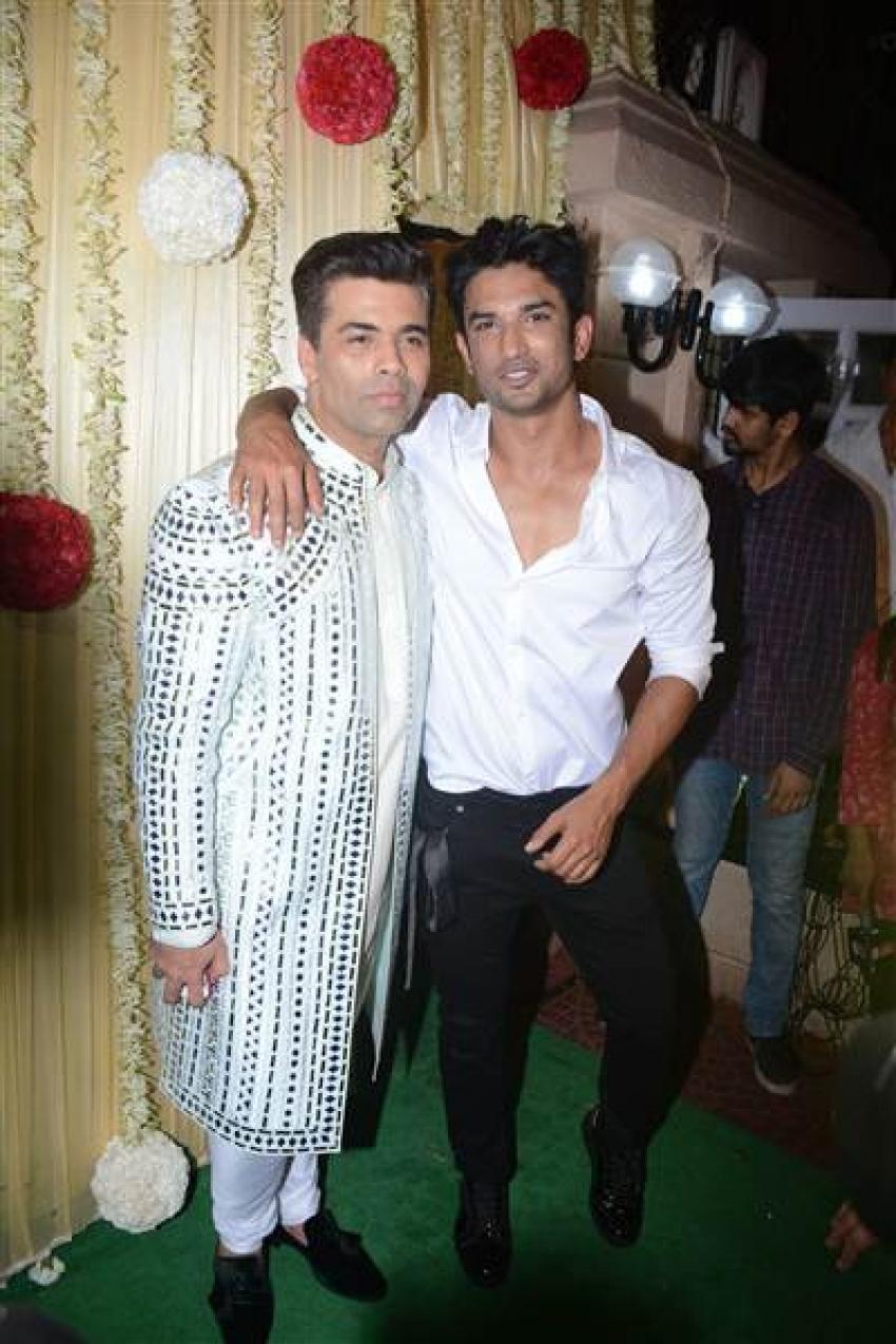 Bollywood Celebs At Ekta Kapoor Diwali Bash 2017 Photos
