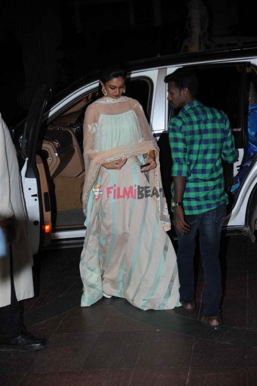 Chiranjeevi Sarja And Meghana Raj Engagement Pics Photos