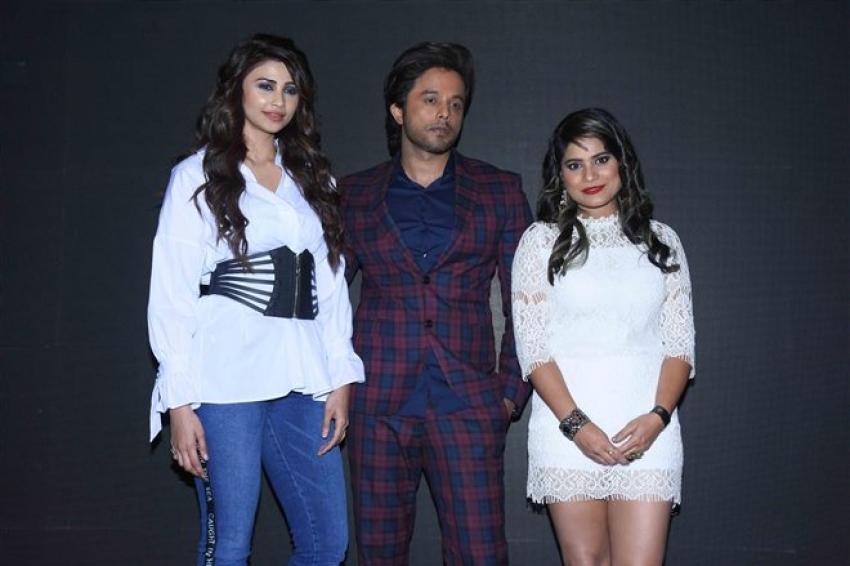 Daisy Shah Launch Aaja Mahi Music Album In Mumbai Photos