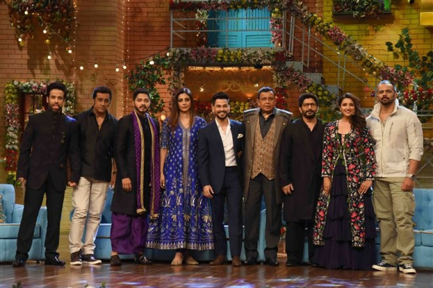 Golmaal Again Promotion On The Sets Of Drama Company