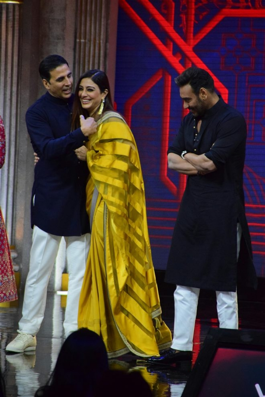 Golmaal Again Promotion On The Sets Of The Great Indian Laughter Challenge