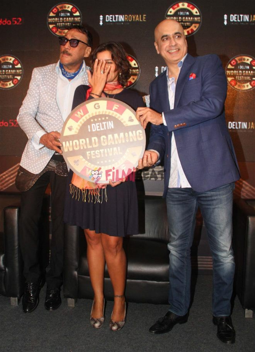 Jackie Shroff Launch Deltin Word Gaming Festival Photos