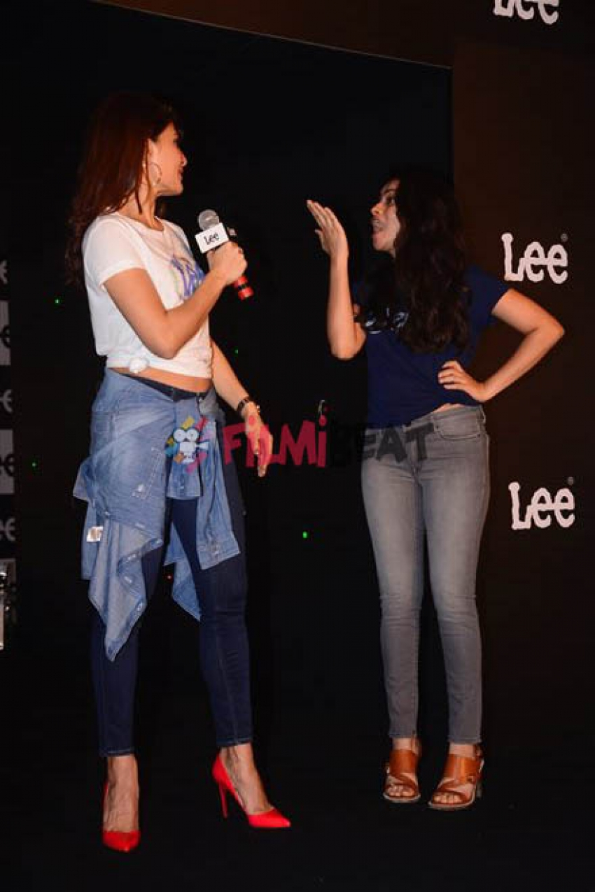 Jacqueline Fernandez laser Dance At Unveiling Of Season 2 Body Optix Of Denim Brand Lee Photos